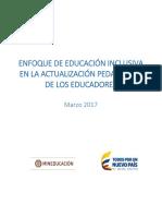 Copia de 1- Educación Inclusiva - Formación Docente