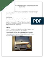 Determinacion Del Indice de Rebote Utilizando El Dispositivo Conocido Como Esclerometro