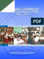 Rencana Strategis KEMDIKNAS 2010-2014