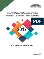 Statistički godišnjak/ljetopis Federacije BiH 2017