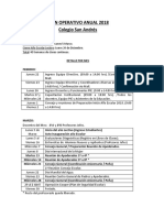 Plan Anual Operativo 2018