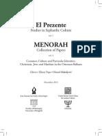 Dušan I. Sindik, Jews in Serbian Medieval Written Sources, El Prezente 7-Meonora 3 (2013) 13-25