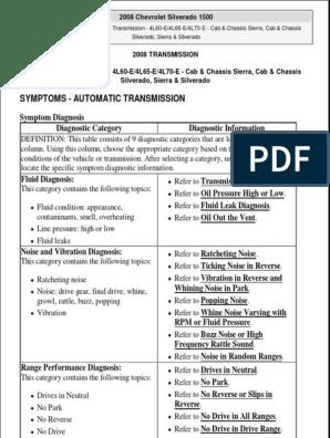 AUTO TRANSMISSION pdf | Manual Transmission | Automatic