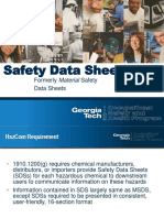 Module 4 Safety Data Sheets GHS HazCom 2012