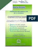Guia de Estudio Derecho Constitucional