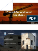 Precast Components Their types and joints between them.