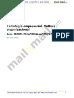 Estrategia Empresarial Cultura Organizacional 34530