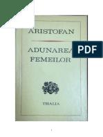 Aristophanes - Adunarea femeilor.pdf