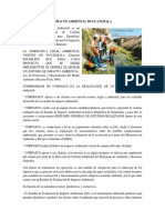 Impacto Ambiental de Guatemala