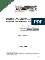 Indicadores de Viabilidade Econômica de Sistemas de Exploração de Caprinos e Ovinos Do Nordeste Do Brasil