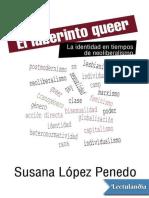El laberinto queer. La identidad en tiem - Susana Lopez Penedo.epub