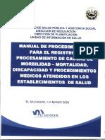 Manual Registro Morbilidad Mortalidad