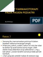 Farmakoterapi Pediatri