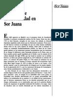 Feminismo e Intelectualidad en Sor Juana
