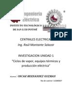 Oscar Hdz Guzman Centrales Convencionales
