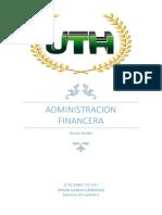 Tarea #1 Administracion Financiera