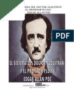 El Sistema Del Doctor Alquitran y El Profesor Pluma