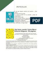 #NOTECALLES