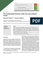 2011. Tooth Loss Cerebral Stroke.pdf