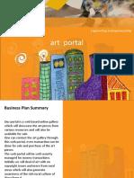 Business Plan Art Portal Engineering Entrepreneurship