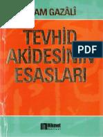 Imami Gazali - Tevhid Akidesinin Esaslari.pdf