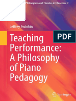 [Contemporary Philosophies and Theories in Education 7] Jeffrey Swinkin (auth.) - Teaching Performance_ A Philosophy of Piano Pedagogy (2015, Springer International Publishing).pdf