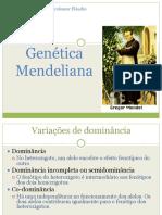 Genc3a9tica Mendeliana e Pc3b3s Mendel