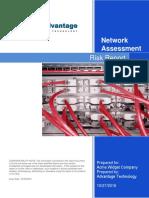 Advantage IT Discovery Client Risk Report