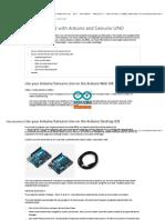 Arduino - ArduinoUno