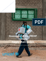 UNICEF Somalia Supply Chain Assessment Final Report