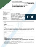 ABNT_NBR_6028_2003_ requisitos para redação e apresentação de resumos.pdf