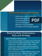 Bond Portfolio Management Strategies (1)