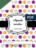 Agenda Escolar 2018/2019
