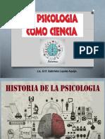 Psicologia Como Ciencia -Clase 1 (1) Milagros