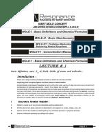 (2095)Lecture Notes Mole Concept e