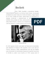 Biografia de Samuel Beckett