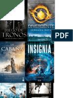 Libros portadas