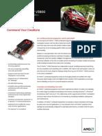 ATI FirePro V3800 Datasheet