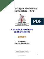 Lista Afo CD Marcel 2014 Exerc Gabaritados
