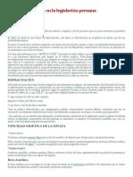 El Delito de Estafa en La Legislación Peruana