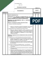 Modelo Procedimientos Contrata