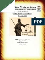 Analisis de Tutela Judicial