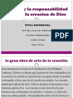 Calvino y La Responsabilidad Frente a La Creacion Diapositivas - Copia