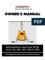 Mechanical Vacuum Lifter_Manual_11 May 2015