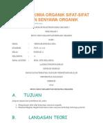 Laporan Kimia Organik Sifat