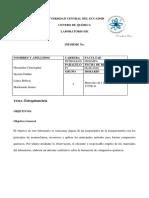 Informe Estequiometria Grupo 5