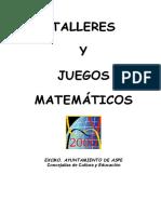 Completo Taller de Juegos Matemáticos Para Infantil y Primaria