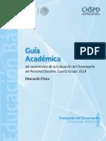 GUÍA ACADEMICA E.F. 2018