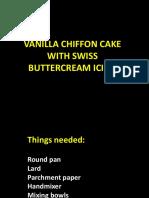 Swiss Buttercream Icing