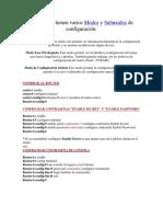 Interfaces en Routers y Contraseñas